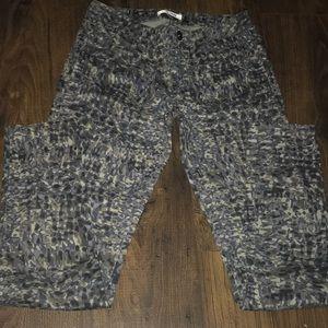 Cabi print pants